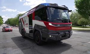 Xe cứu hỏa đầu tiên chạy bằng điện