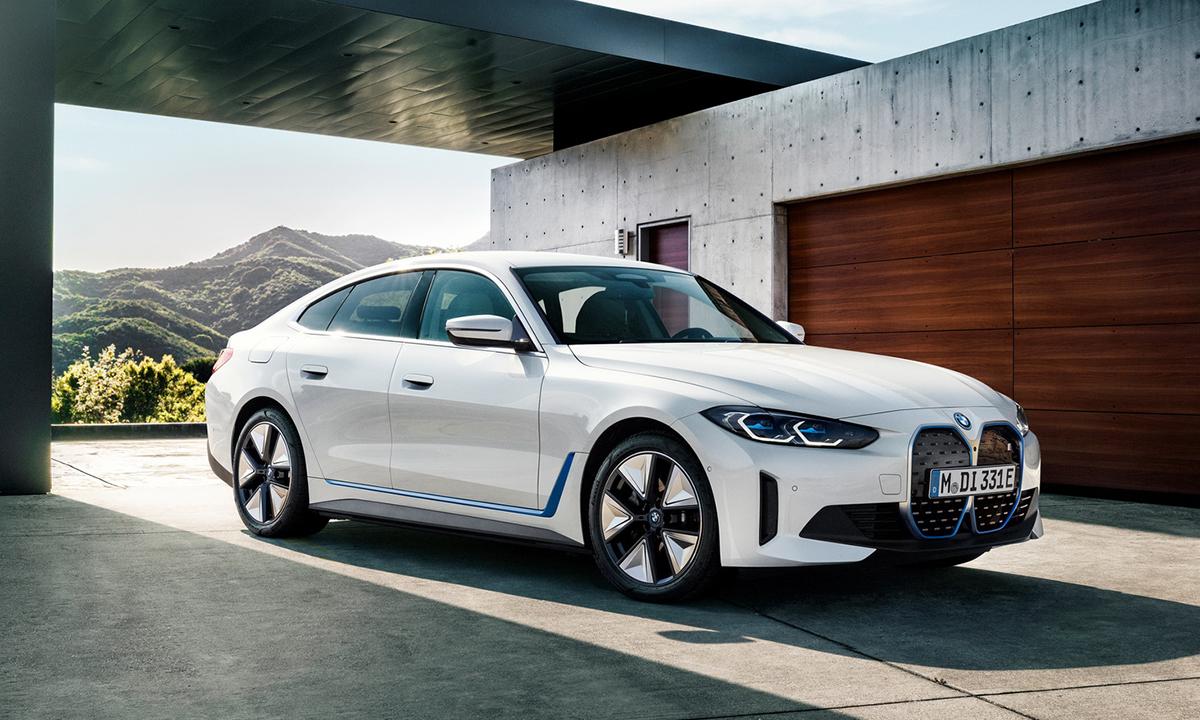 Coupe 4 cửa i4 xDrive40 chạy điện. Ảnh: BMW
