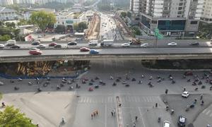 Đóng nút giao Tố Hữu - Lê Văn Lương
