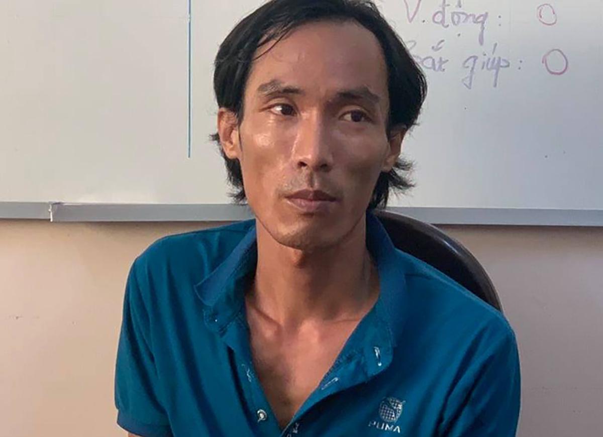 Tá bị bắt giữ sau 5 ngày gây án. Ảnh: Hồng Tuyết