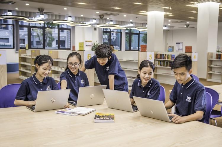 Với kênh học trực tuyến, học sinh còn được rèn luyện các kỹ năng và kết nối với bạn bè từ nhiều vùng miền.