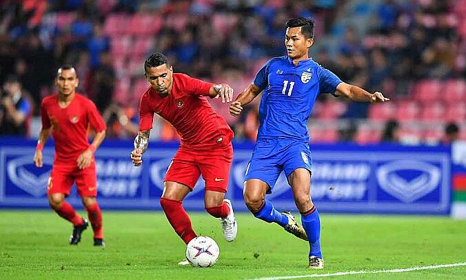 Thái Lan thắng dễ trên sân của Indonesia ở lượt trận thứ hai, và có thể lặp lại kết quả này ở Dubai. Ảnh: Bola