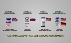 Khác nhau của bốn loại vaccine Covid-19 về Việt Nam
