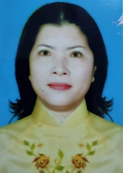 Bà Trần Thị Liên khi đương chức. Ảnh: Lan Vy