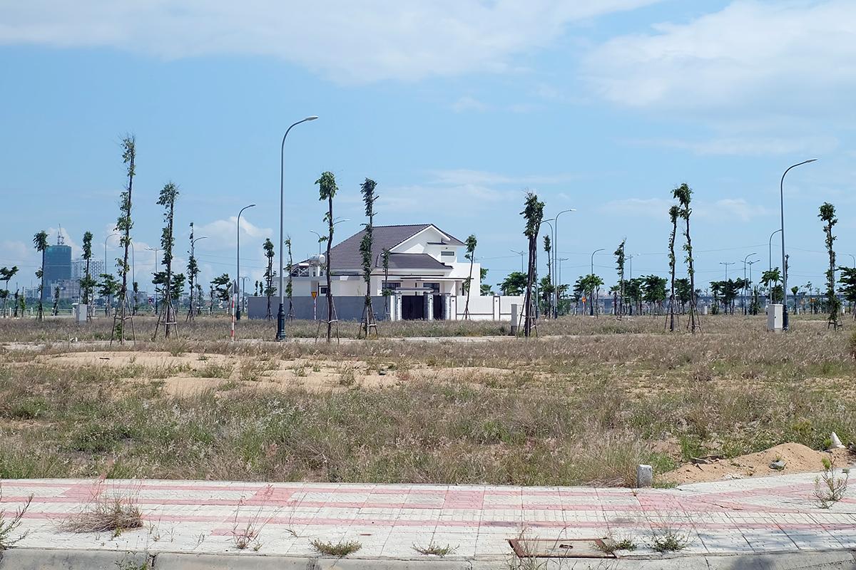 Một góc khu đô thị Nam Tuy Hòa, TP Tuy Hòa, được đưa ra đấu giá. Ảnh: An Phước.