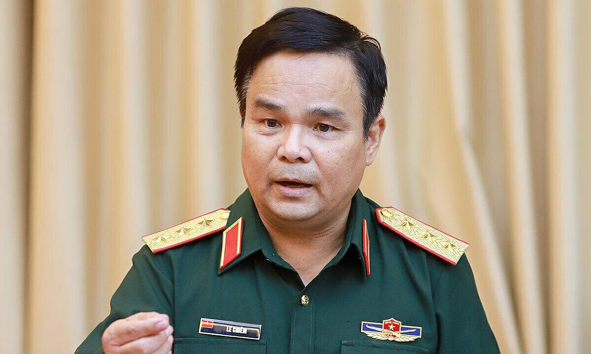 Thượng tướng Lê Chiêm: Ảnh: Văn Đông