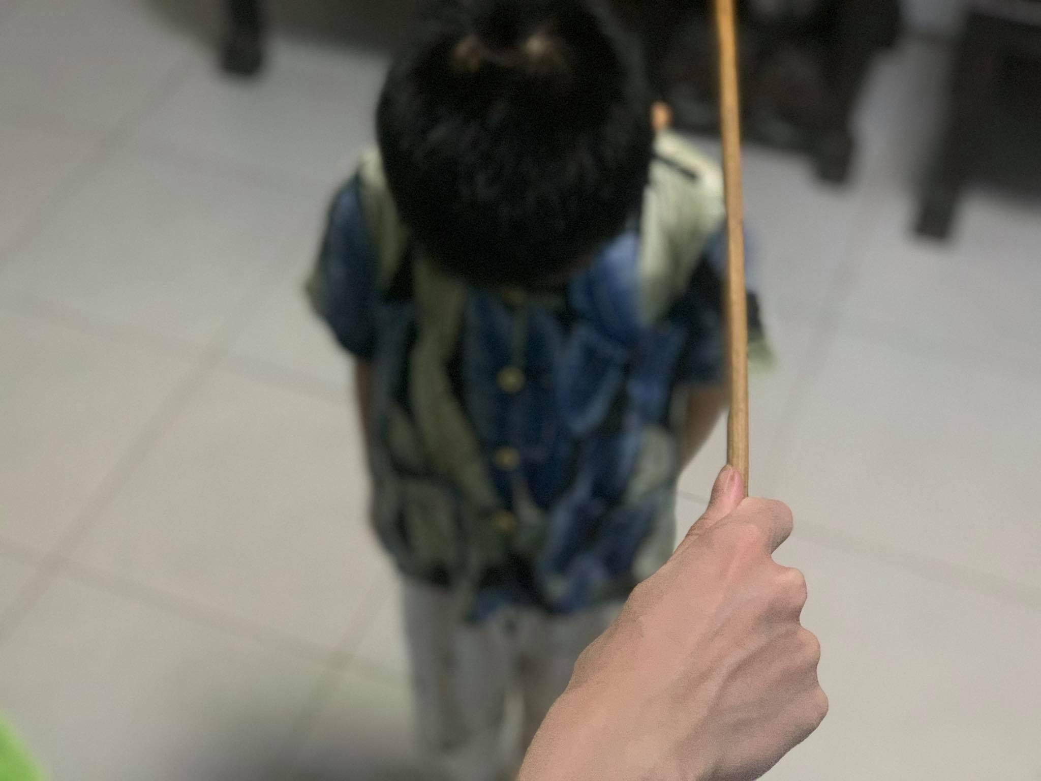 Điều 2 Luật phòng, chống bạo lực gia đình 2007 cấm hành vi bạo lực xâm phạm đến sức khoẻ của trẻ. Ảnh: Phương Anh
