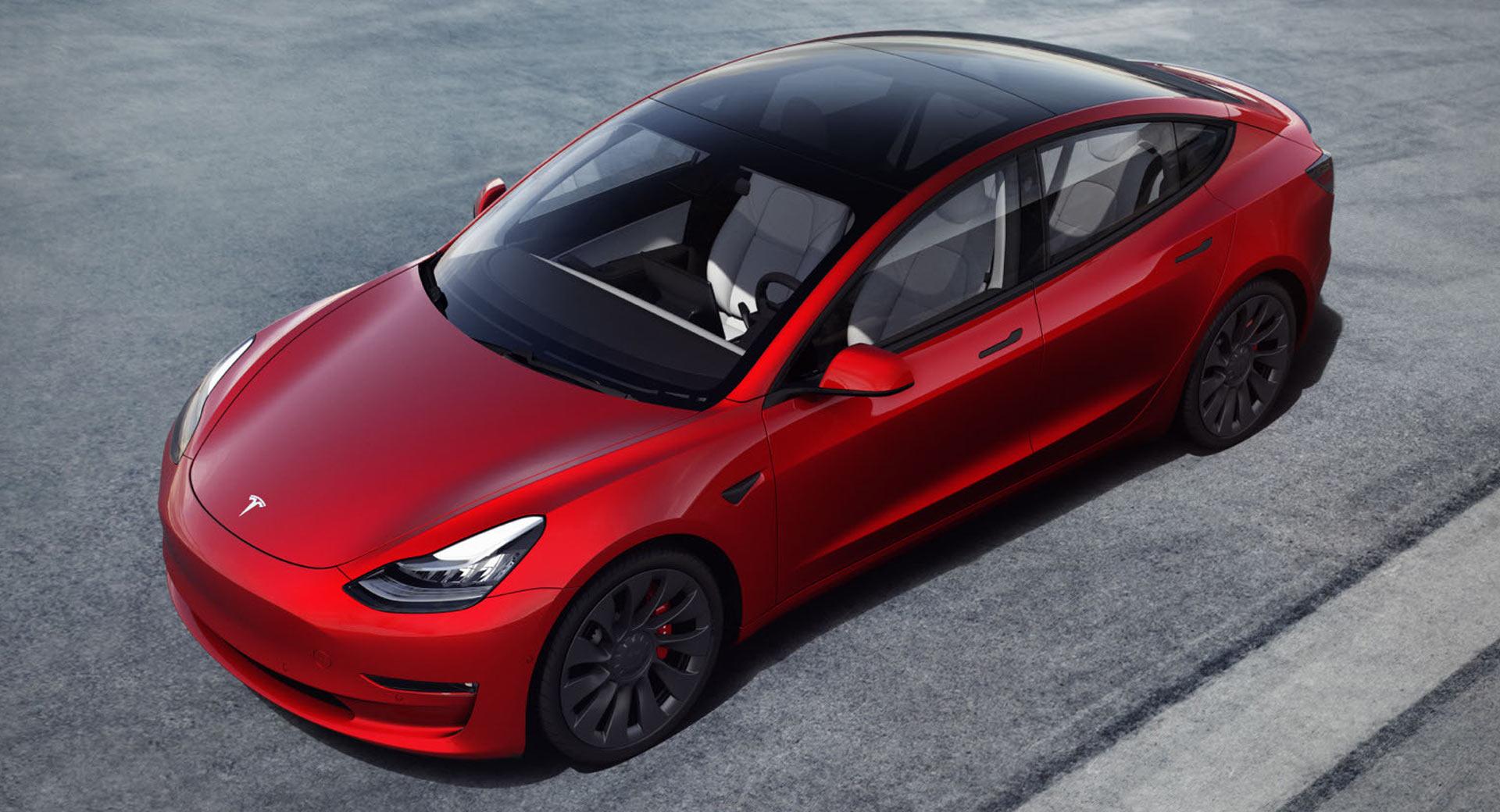 Mẫu Tesla Model 3 trong diện triệu hồi. Ảnh: Tesla