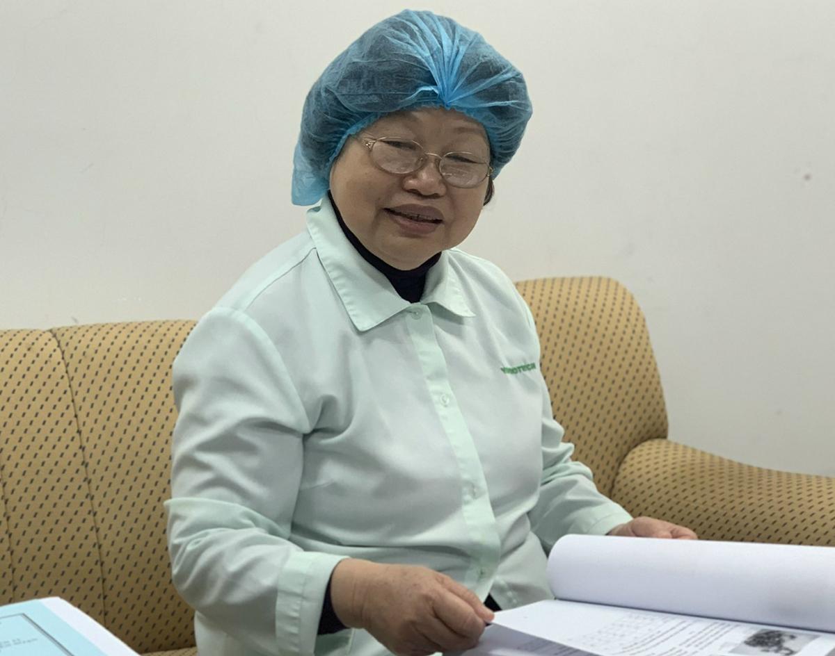 GS Huynhd Thị Phương Liên. Ảnh: MN.