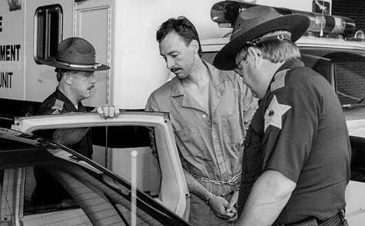 Patrick Bradford nhận bản án 80 năm tù giam. Ảnh: Courierpress.