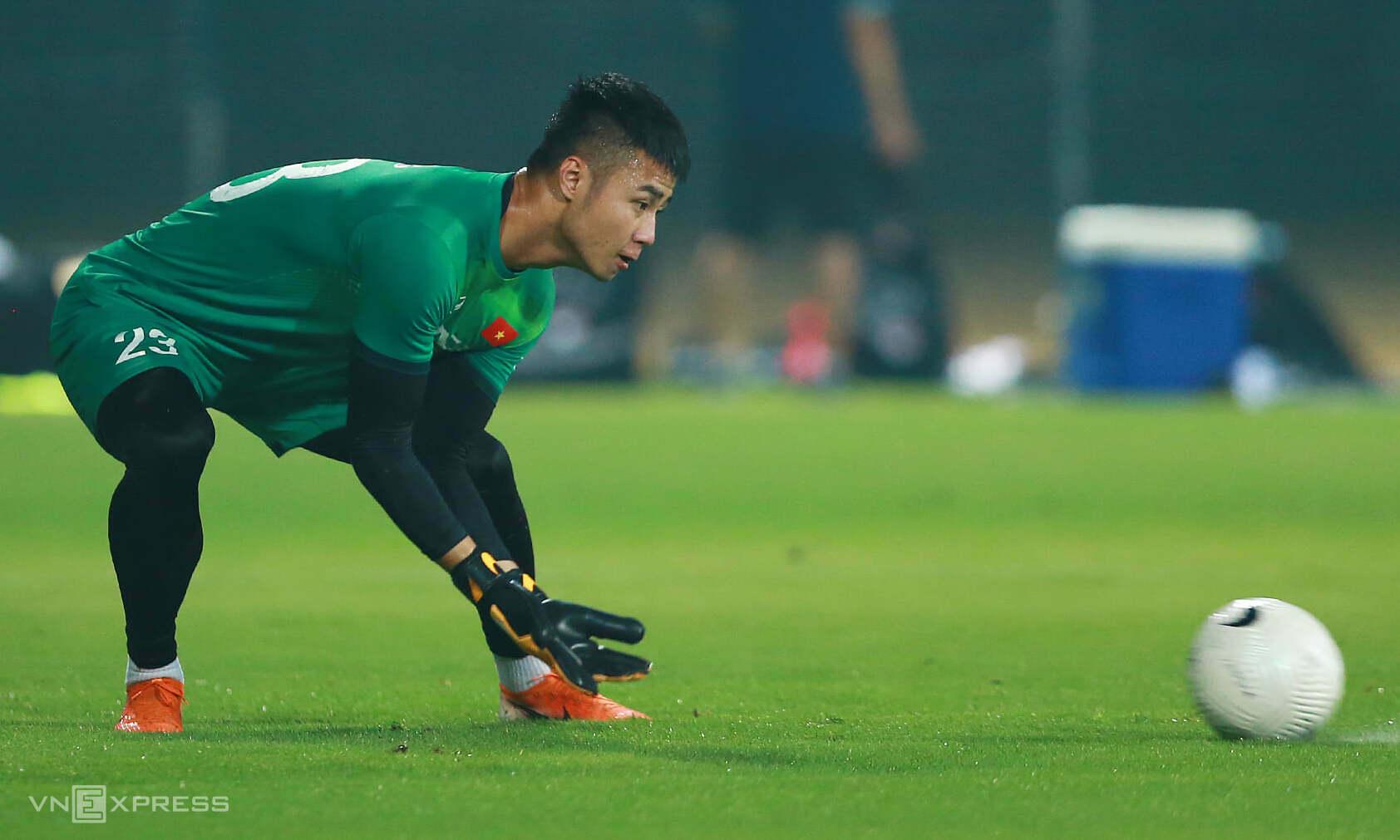Van Toan bisa memimpin ketimbang Van Lam, tapi Tan Truong juga punya peluang besar.  Foto: Lam Thoa