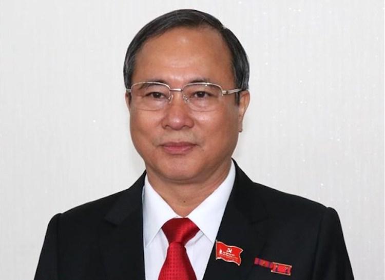 Bí thư Bình Dương Trần Văn Nam. Ảnh: TTX