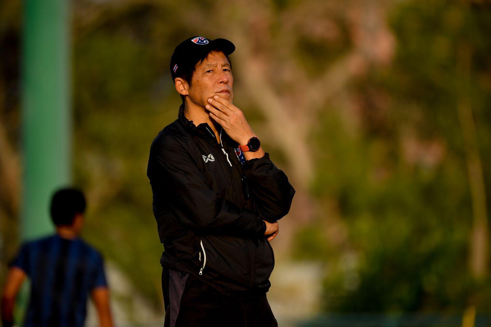 Pelatih Nishino hanya memenangkan satu dari 10 pertandingan terakhir dengan Thailand.  Foto: Siam