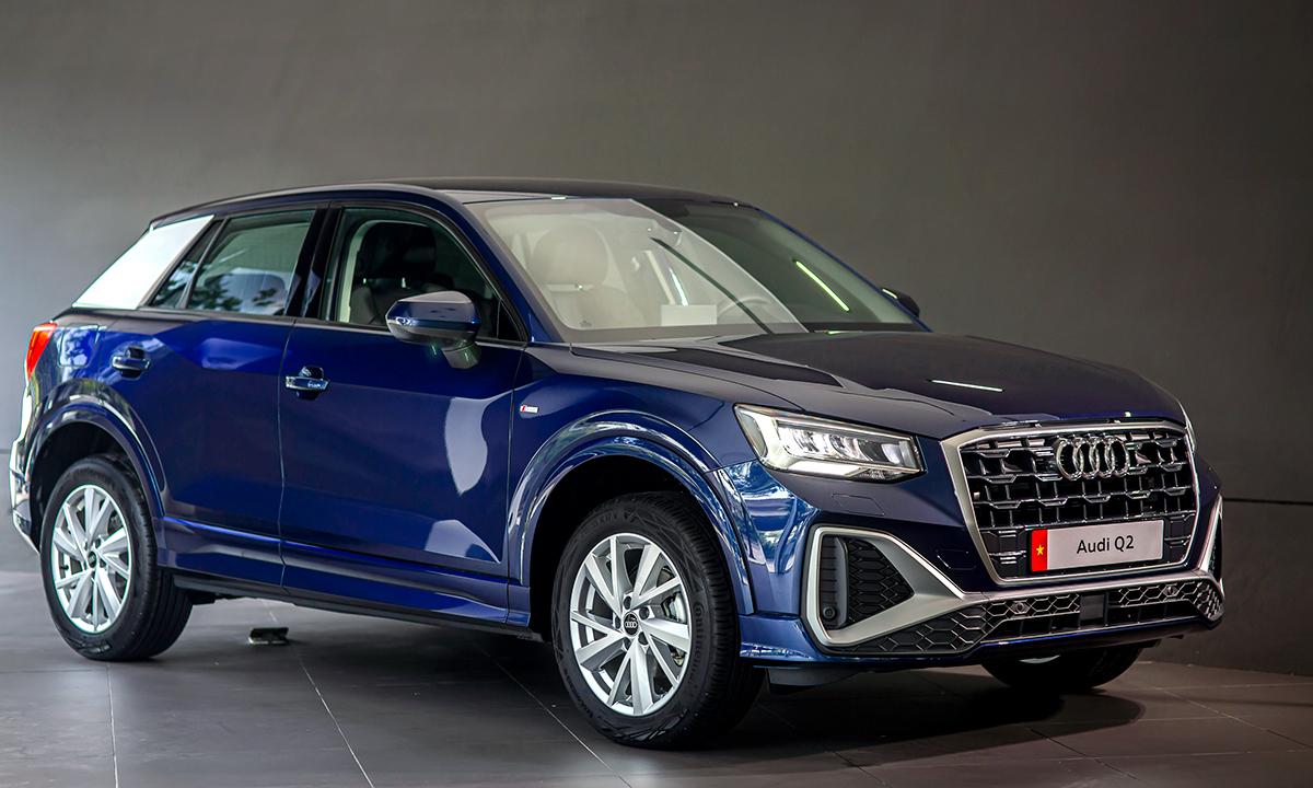 Audi Q2 35 TFSI 2021 giới thiệu tại Việt Nam. Ảnh: Audi