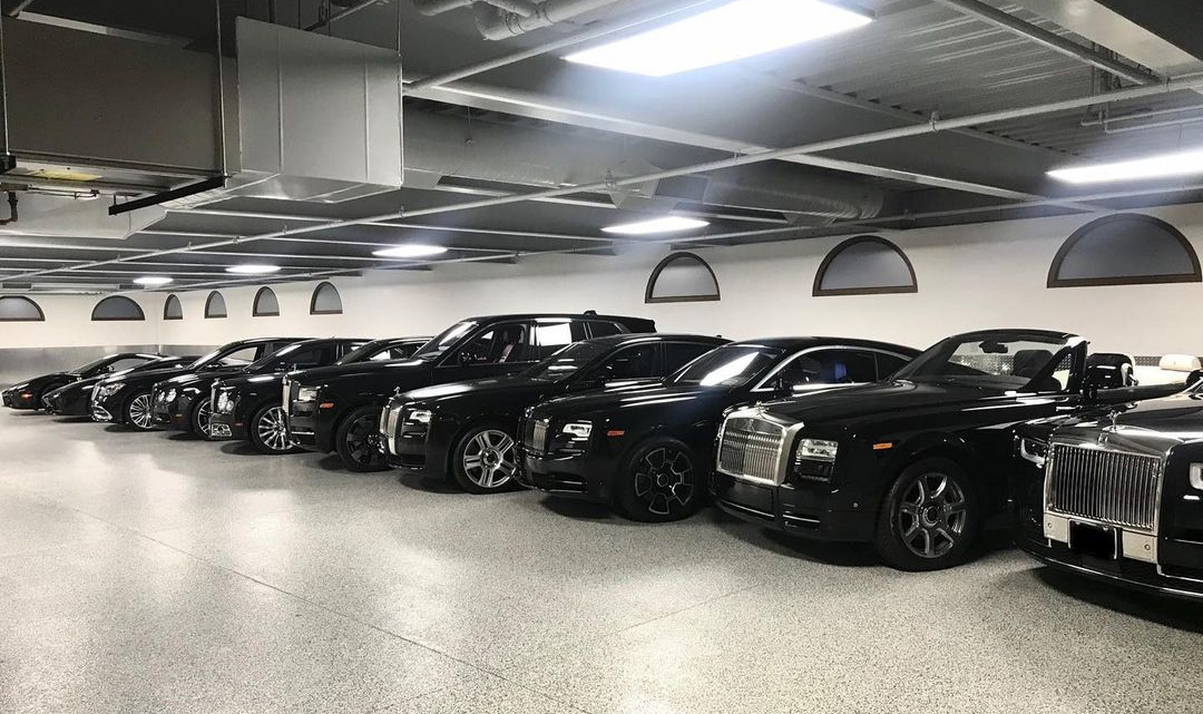 The boxer once wrote that my Garage is like a house dealer with some new toys.  Photo: Floyd Mayweather