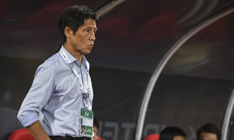 Nishino menghadapi tekanan besar setelah Thailand keluar dari pintu untuk melanjutkan kualifikasi Piala Dunia.  Foto: AFC.