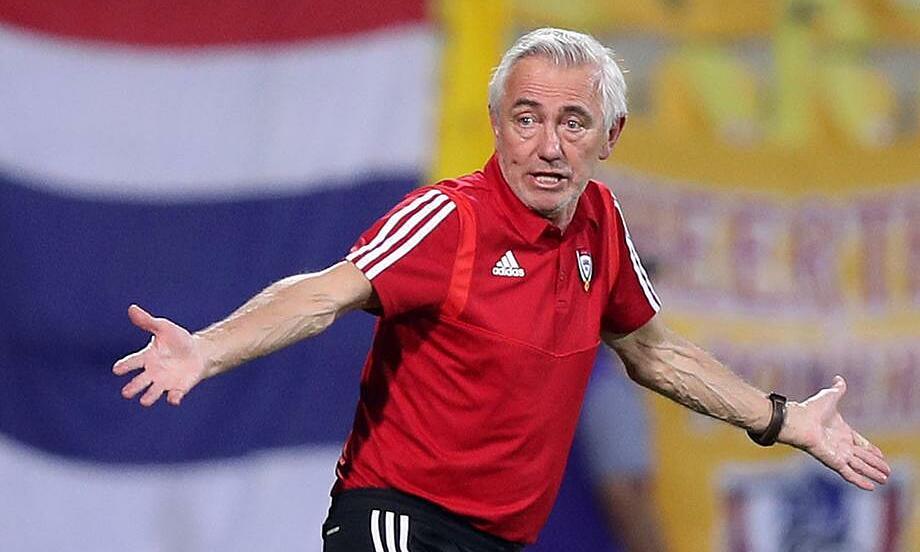 Van Marwijk có phần tiếc nuối khi UAE không thể thắng Thái Lan đậm hơn. Ảnh: The Nations News