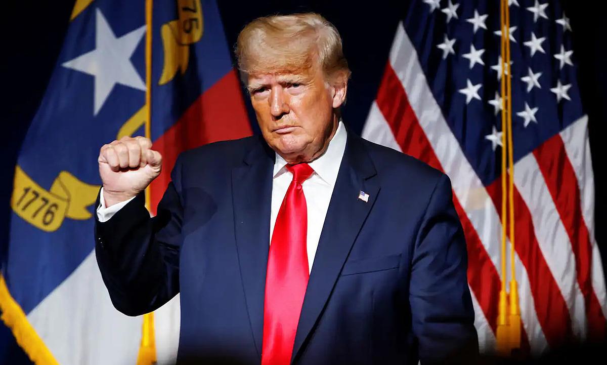 Tổng thống Trump tại Bắc Carolina ngày 5/6. Ảnh: Reuters.