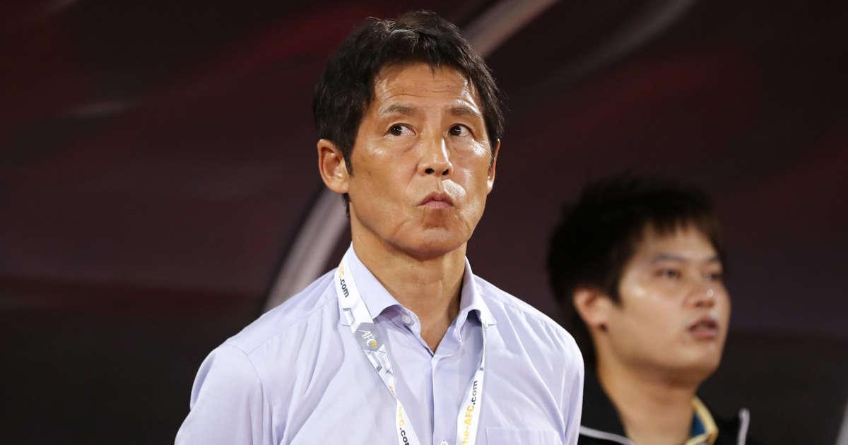 """นิชิโนะเป็นโค้ชต่างชาติคนที่ 14 ของทีมไทย  ภาพถ่าย: """"AFC ."""""""