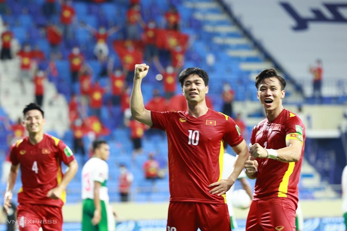 Chiến thắng 4-0 hôm 7/6 cho thấy Việt Nam đang ở một đẳng cấp hoàn toàn vượt trội trước Indonesia nói riêng và bóng đá Đông Nam Á nói chung. Ảnh: Lâm Thoả.