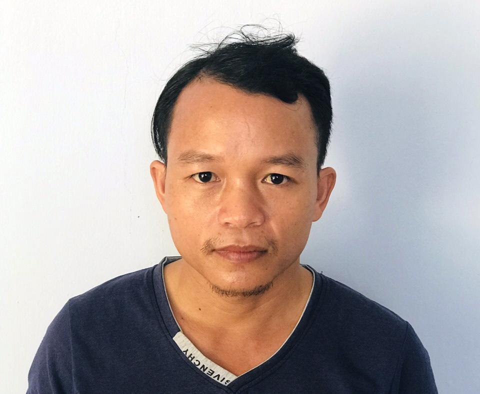 Nguyễn Văn Hải chủ mưu vụ trộm cáp viễn thông. Ảnh: Đắc Thành.