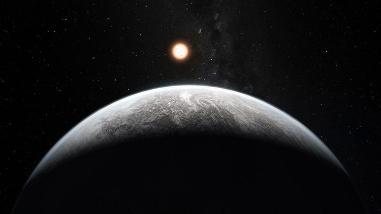 Mô phỏng ngoại hành tinh mới được phát hiện. Ảnh: ESO/M. Kornmesser.