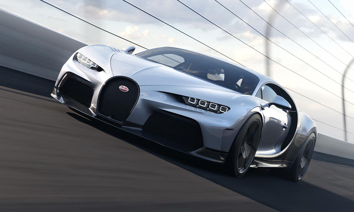 Siêu phẩm Chiron Super Sport 2022. Ảnh: Bugatti