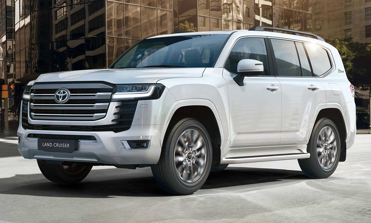 Land Cruiser thế hệ mới ra mắt thế giới. Ảnh: Toyota