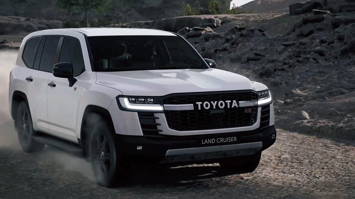 Land Cruiser 2022 bản thể thao GR Sport. Ảnh: Toyota