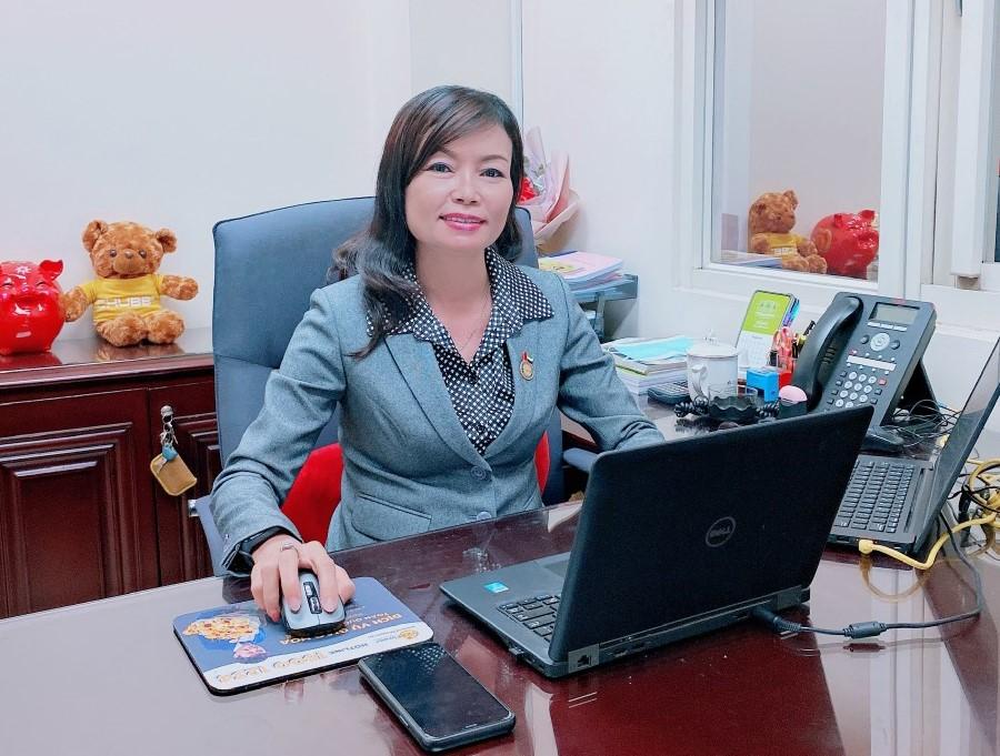 Chị Ngọc Bích hiện là Giám đốc Khối điều hành và phát triển kinh doanh Chubb Life tại quận Phú Nhuận (TP HCM). Ảnh nhân vật cung cấp.