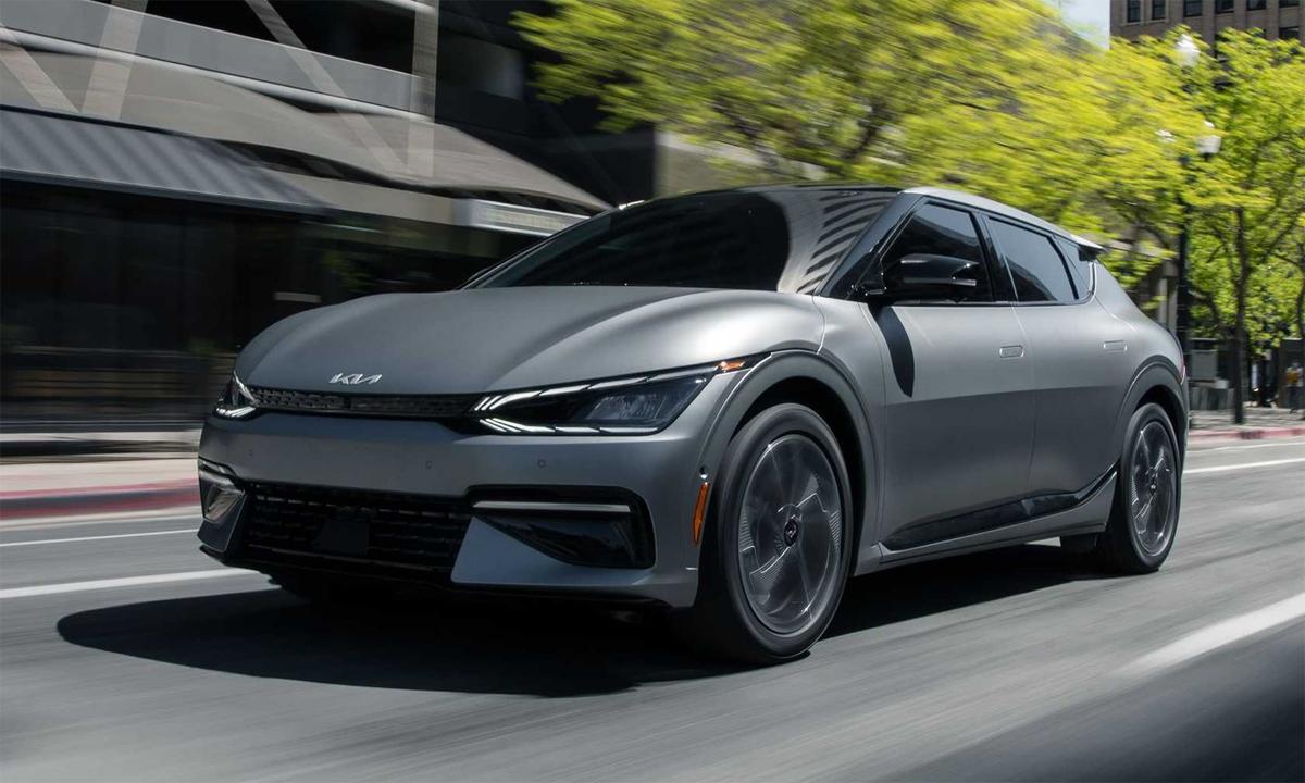 Crossover coupe chạy điện EV6. Ảnh: Kia