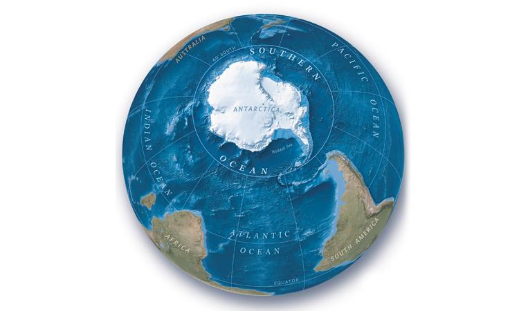 Nam Đại Dương bao quanh châu Nam Cực. Ảnh: National Geographic.