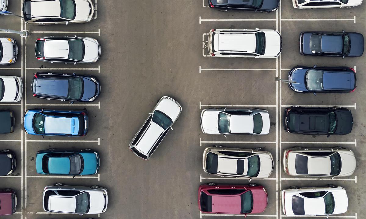 Parkopedia giúp tài xế đặt trước chỗ đỗ. Ảnh: Insure the Box