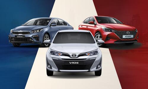 5 mẫu sedan bán chạy nhất tháng 5 - Vios trở lại ngôi vương