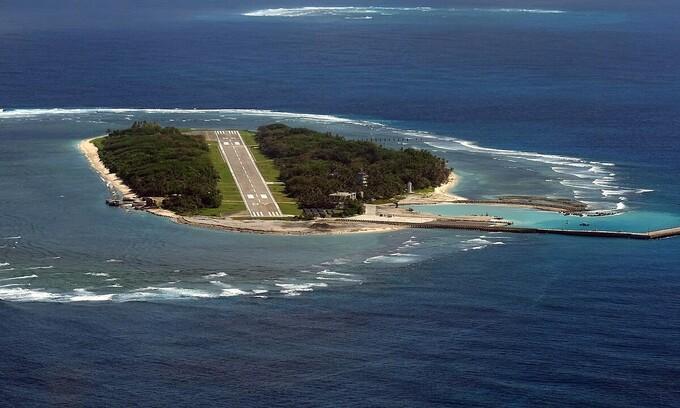 Đảo Ba Bình thuộc quần đảo Trường Sa của Việt Nam. Ảnh: AFP.