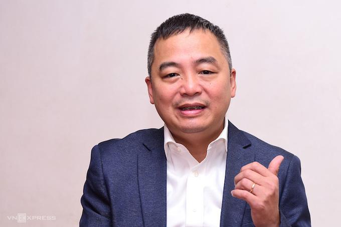 Ông Nguyễn Lân Hiếu, Giám đốc Bệnh viện Đại học Y Hà Nội. Ảnh: Giang Huy.