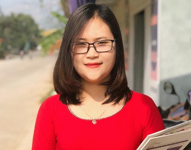 Cô Hà Ánh Phượng là một trong 499 người trúng cử đại biểu Quốc hội khóa XV. Ảnh: Nhân vật cung cấp.