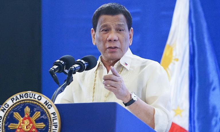 Tổng thống Philippines Rodrigo Duterte. Ảnh: Inquirer.