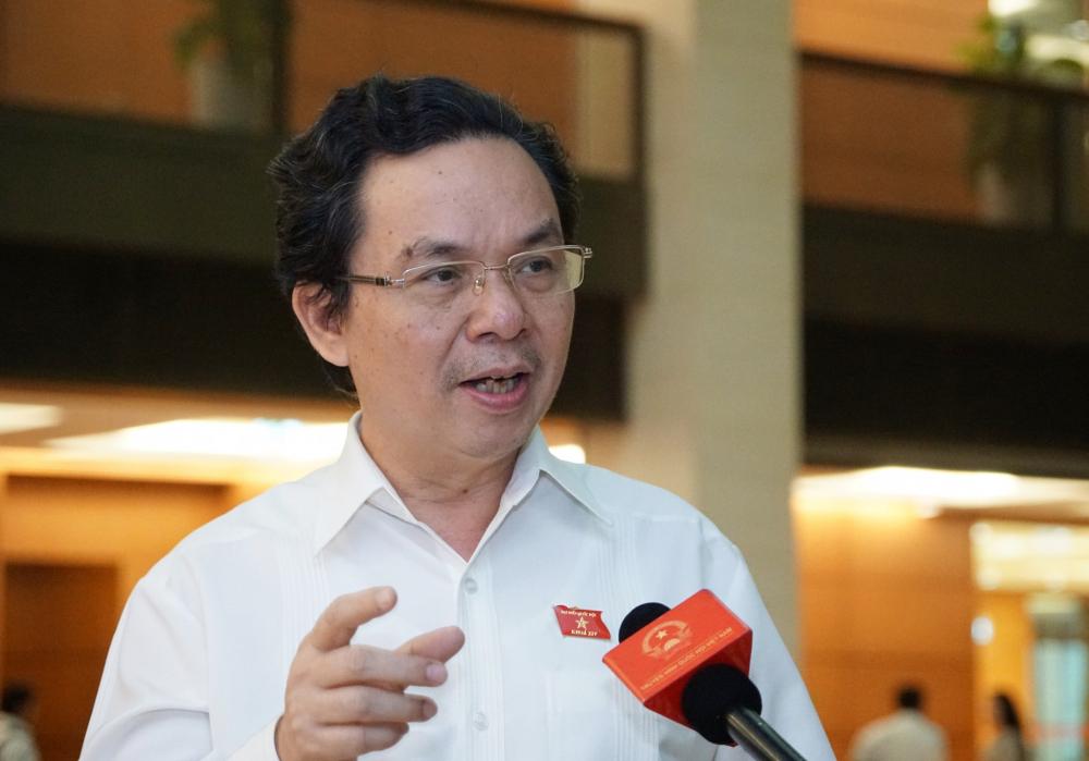 Đại biểu Quốc hội Hoàng Văn Cường. Ảnh: Hoàng Phong.