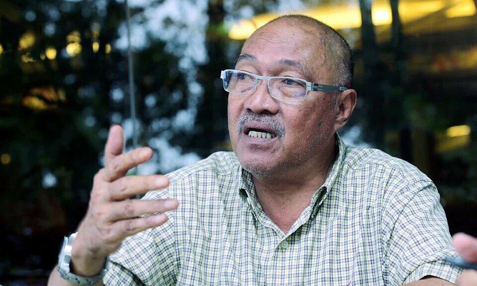 Jamal Nasir kêu gọi CĐV Malaysia tự tin để lan toả năng lượng tích cực đến các tuyển thủ. Ảnh: Vocketfc