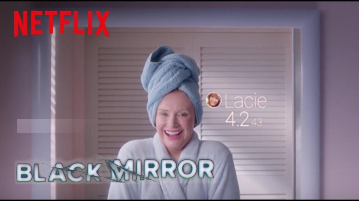 Black Mirror - series phim ăn khách về tương lai của con người khi phụ thuộc quá nhiều vào công nghệ. Ảnh: Netflix.