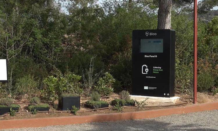 Pin sinh học Bioo đang được thử nghiệm ở Tây Ban Nha. Ảnh: CNBC.