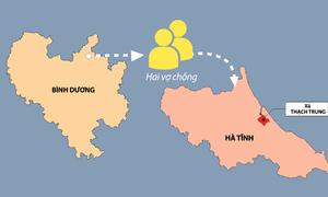 Ba chuỗi lây nhiễm ở Hà Tĩnh