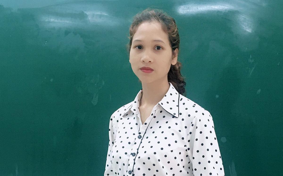 Đại biểu Quốc hội Nàng Xô Vi, giáo viên Phân hiệu trường PTDTNT tỉnh Kon Tum. Ảnh: Nhân vật cung cấp.