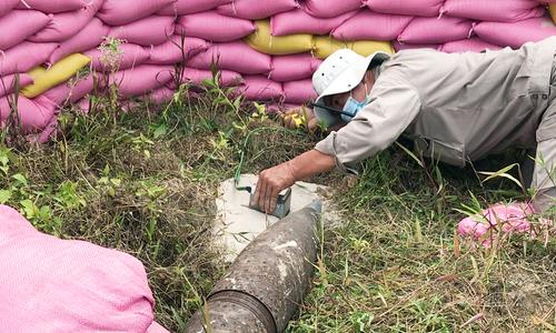 Nhân viên Việt Nam học phá bom mìn chuẩn quốc tế