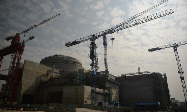 Nhà máy điện hạt nhân Taishan ở tỉnh Quảng Đông, Trung Quốc, hồi tháng 12/2013. Ảnh: AFP.