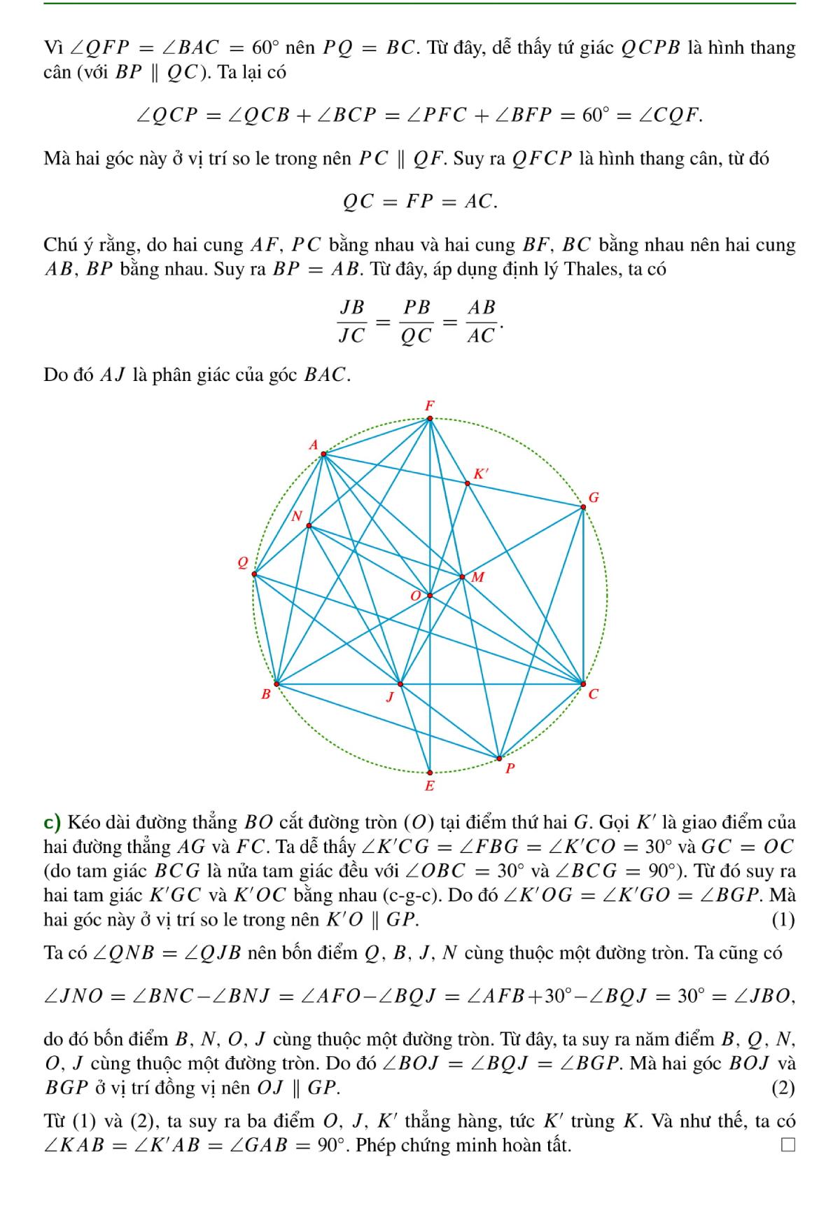 Lời giải đề thi Toán vào lớp 10 trường chuyên Hà Nội - 4