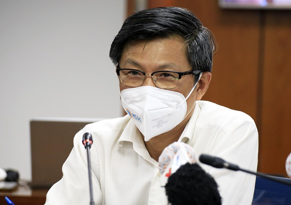Bác sĩ Nguyễn Trí Dũng, Giám đốc Trung tâm Kiểm soát bệnh tật TP HCM. Ảnh: Hữu Công.