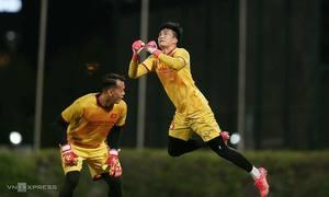 HLV Park đăng ký cả ba thủ môn cho trận UAE