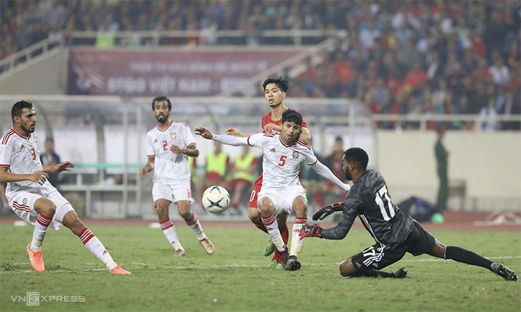 Một kết quả tốt nữa trước UAE sẽ khẳng định chắc chắn vị thế hàng đầu của tuyển Việt Nam trong hàng ngũ những đội mạnh nhất châu lục. Ảnh: Ngọc Thành